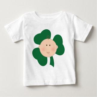 T-shirt Pour Bébé Pièce en t du jour de bébé de St Patrick irlandais