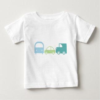 T-shirt Pour Bébé Pièce en t du trafic dans les bleus mous et les