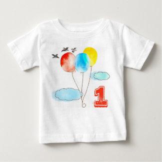 T-shirt Pour Bébé Pièce en t faite sur commande d'âge