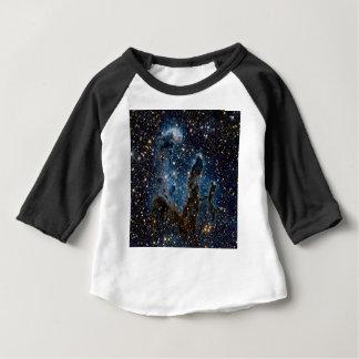T-shirt Pour Bébé Piliers infrarouges de nébuleuse d'Eagle de