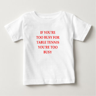 T-shirt Pour Bébé ping-pong