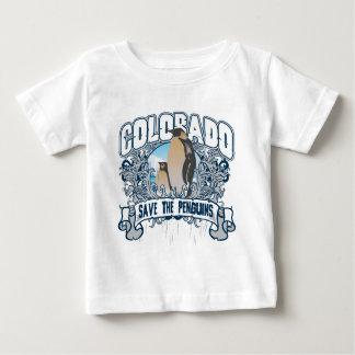 T-shirt Pour Bébé Pingouin le Colorado