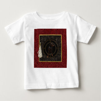 T-shirt Pour Bébé Pinscher de dobermann, forme ronde, chien dans le