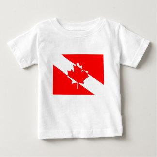 T-shirt Pour Bébé Piqué blanc rempli Canada