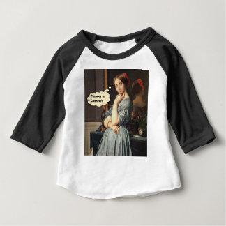 T-shirt Pour Bébé Pizza ou Chinois ?