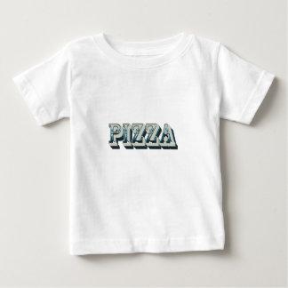 T-shirt Pour Bébé Pizza vintage pour les hippies et les fins