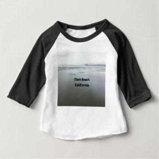 T-shirt Pour Bébé Plage de palourde, CA
