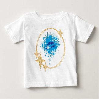 T-shirt Pour Bébé Plaisir de dauphins