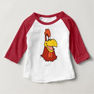 T-shirt Pour Bébé Plan rapproché de leghorn de corne de brume