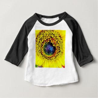 T-shirt Pour Bébé Plan rapproché jaune