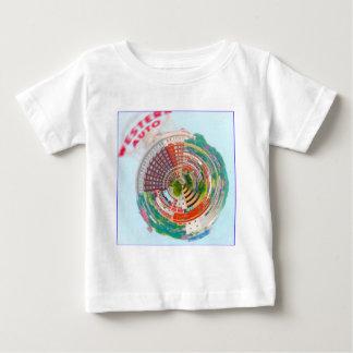T-shirt Pour Bébé Planète minuscule Kansas City de construction