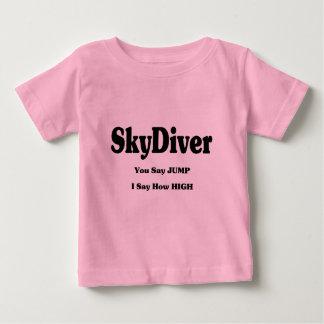 T-shirt Pour Bébé Plongeur de ciel