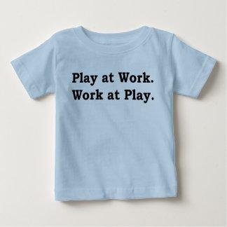 T-shirt Pour Bébé Plus de zen quelque chose énonciations - jeu au