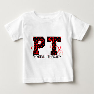 T-shirt Pour Bébé pois rouge noir de pinte