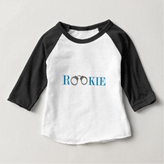 T-shirt Pour Bébé Police novice dans l'avenir de formation