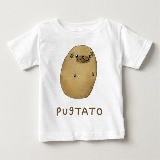 T-shirt Pour Bébé Pomme de terre de carlin de Pugtato