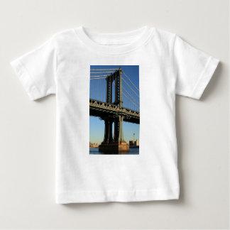 T-shirt Pour Bébé Pont New York Manhattan Brooklyn