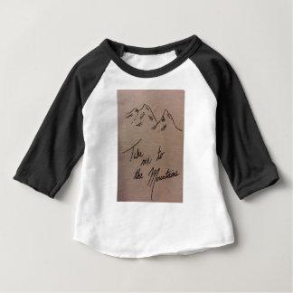 T-shirt Pour Bébé Portez-moi aux montagnes