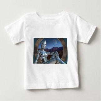 T-shirt Pour Bébé Portrait d'une mémoire