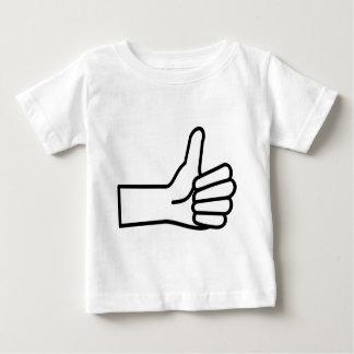 T-shirt Pour Bébé Pouces