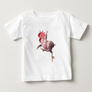 T-shirt Pour Bébé Poulet
