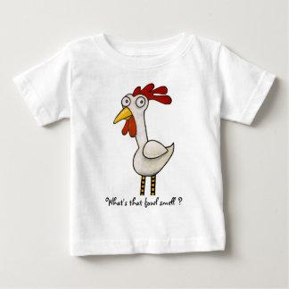 T-shirt Pour Bébé Poulet drôle