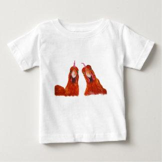 """T-shirt Pour Bébé Poulet heureux """"HARRIET de poules et"""" bébé/enfants"""