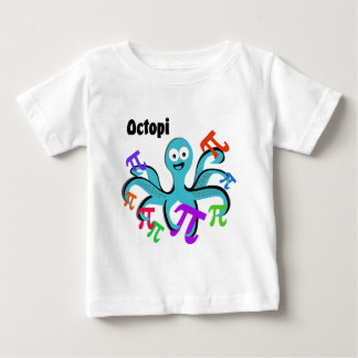 T-shirt Pour Bébé Poulpes