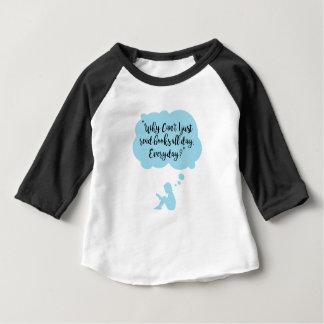 T-shirt Pour Bébé Pourquoi ne pouvez pas je lis juste quotidien de