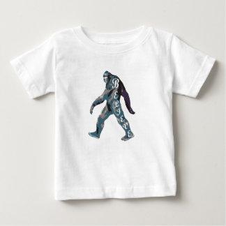 T-shirt Pour Bébé Pourtant je crois (le yeti)