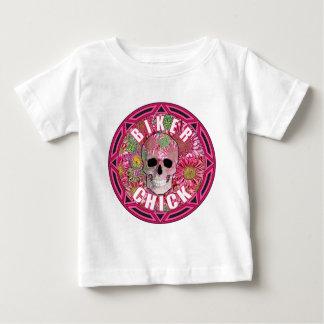 T-shirt Pour Bébé Poussin 001 de cycliste