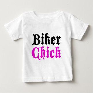 T-shirt Pour Bébé Poussin de cycliste