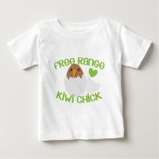 T-shirt Pour Bébé Poussin libre Nouvelle Zélande de KIWI de gamme
