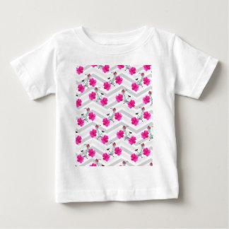 T-shirt Pour Bébé Poussoir Chevron de pétale