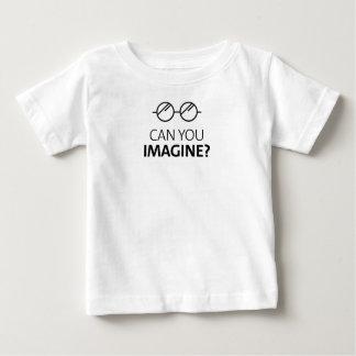 T-shirt Pour Bébé Pouvez vous imaginer la chanson anglaise de John