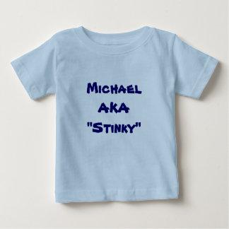 T-shirt Pour Bébé Prenez garde de la pièce en t de couche-culotte