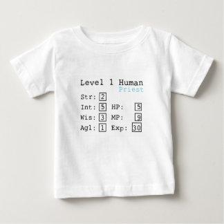 T-shirt Pour Bébé Prêtre du niveau un