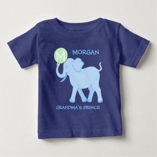 T-shirt Pour Bébé Prince bleu de grand-mamans de lettre de bébé du