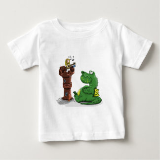 T-shirt Pour Bébé Princesse de bande dessinée jouant un banjo