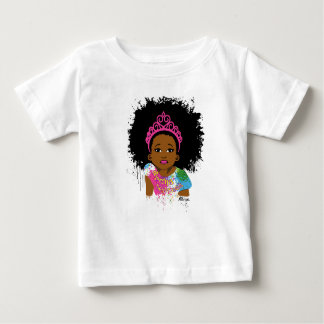 T-shirt Pour Bébé Princesse de moka