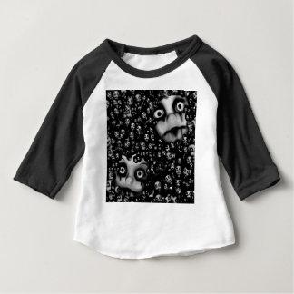 T-shirt Pour Bébé Produits effrayants de poupées foncées