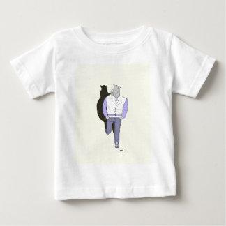 """T-shirt Pour Bébé Produits """"z'animo"""", le Rhinocéros"""
