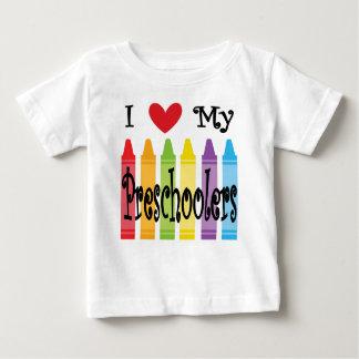 T-shirt Pour Bébé professeur préscolaire