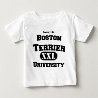 T-shirt Pour Bébé Propriété d'université de Boston Terrier