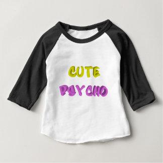 T-shirt Pour Bébé Psychopathe mignon