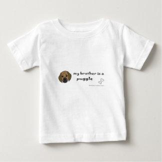 T-shirt Pour Bébé puggle - plus multiplie