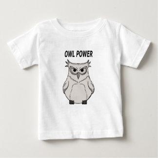 T-shirt Pour Bébé puissance de hibou