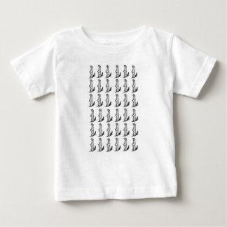 T-shirt Pour Bébé puissance d'écureuil
