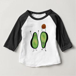 T-shirt Pour Bébé Puits vert encourageant drôle d'appui renversé