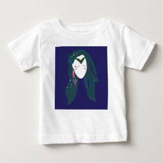 T-shirt Pour Bébé Qualité de la chasse, conception bleue dans le